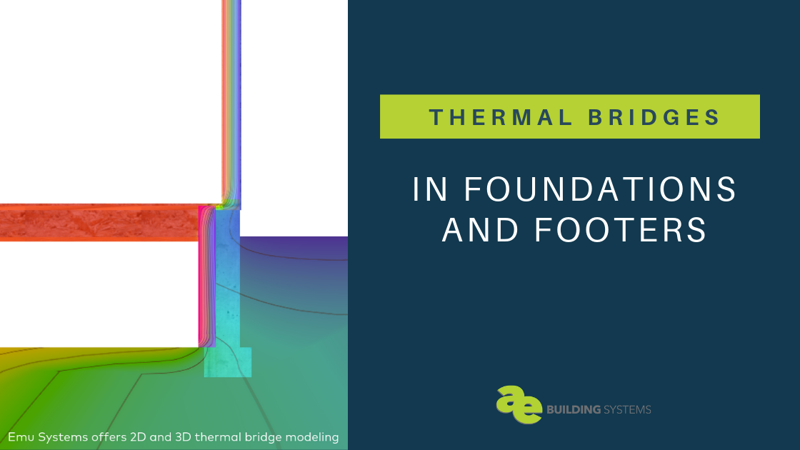 Thermal Bridging in Foundations and Footers