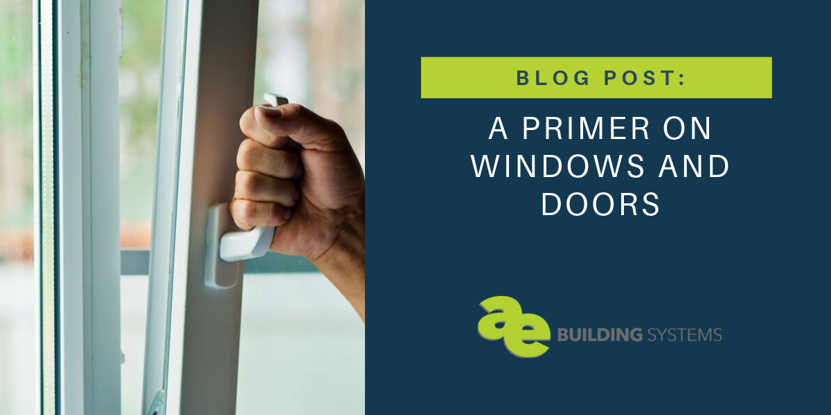 A Primer on Windows and Doors