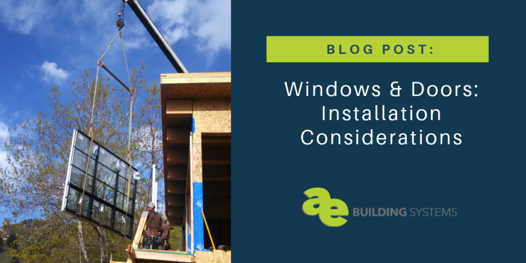 Blog header - windows & doors installation considerations
