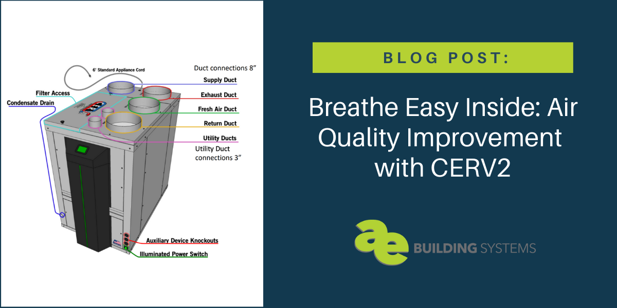 Breathe Easy Inside: Air Quality Improvement with CERV2