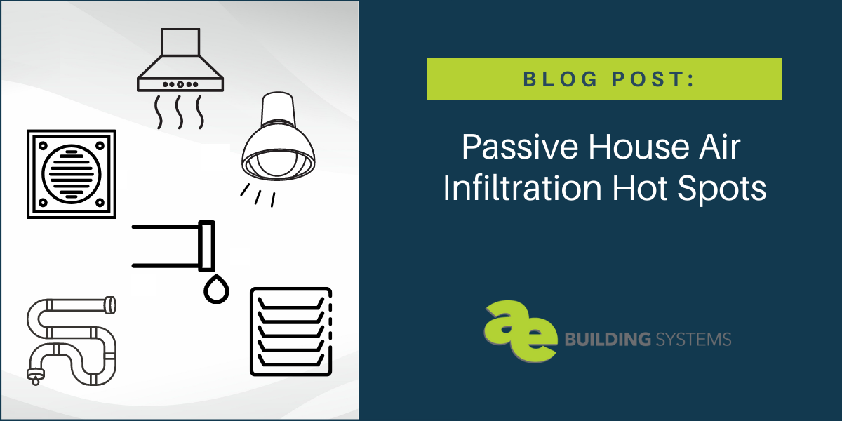 Passive House Air Infiltration Hot Spots