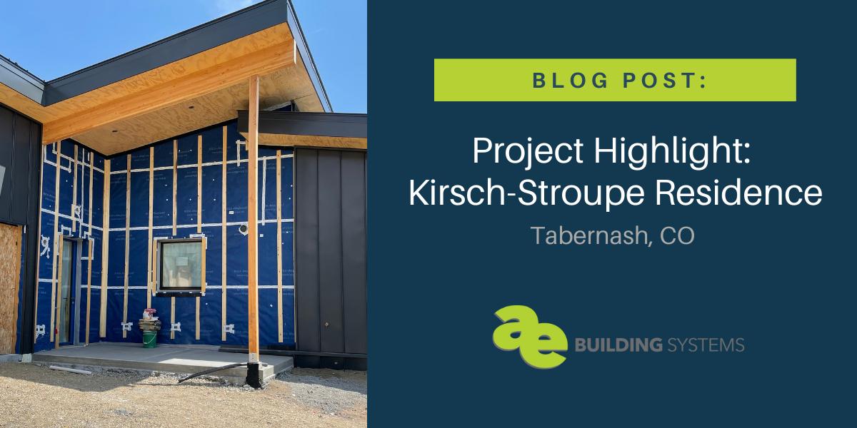 Project Highlight: Kirsch-Stroupe Residence near Winter Park